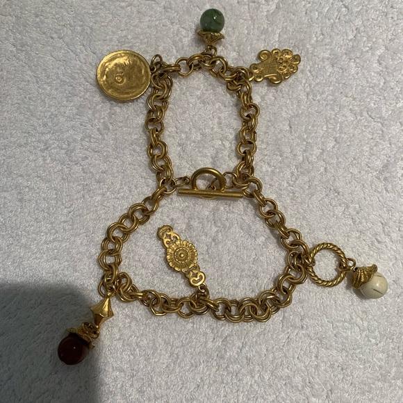 Jewelry - Gold charm bracelet